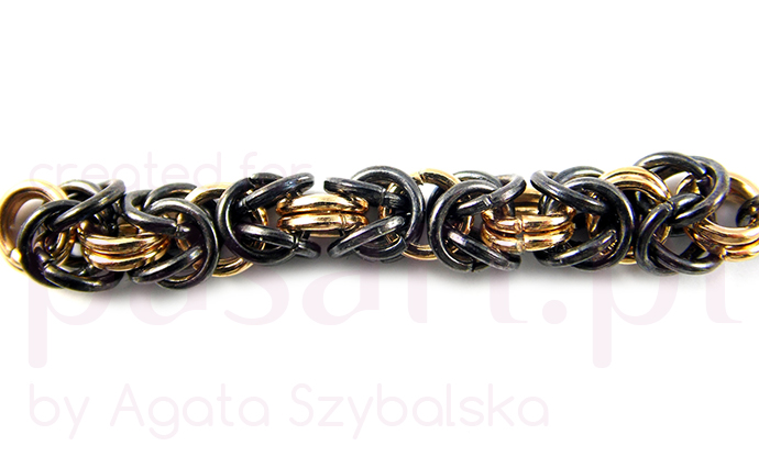 Chainmaille Byzantine tutorial